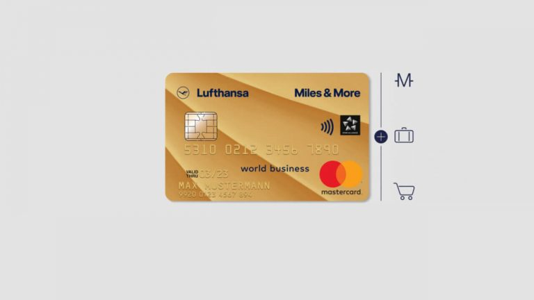 Miles & More Gold Business Card