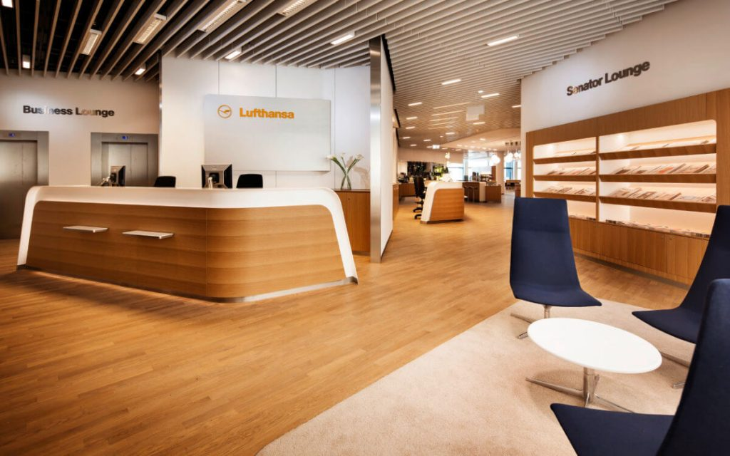 Airport Lounge Lufthansa Business und Senator