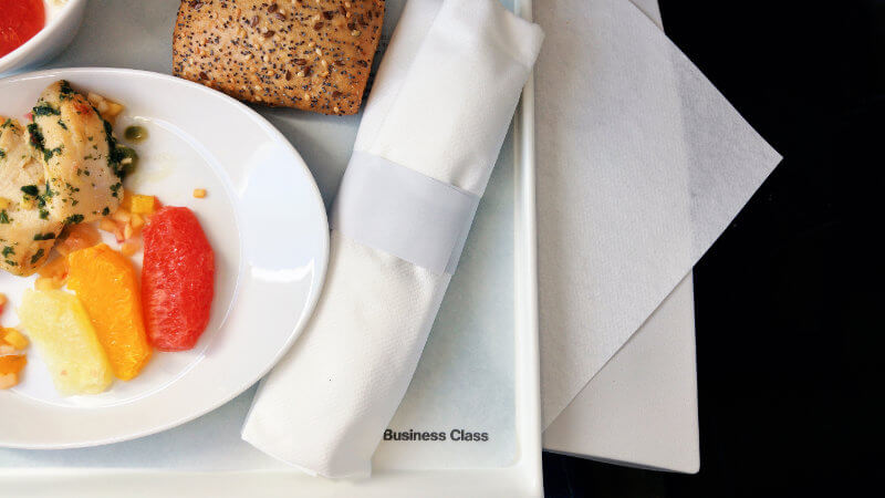Kostenfreies Upgrade in die Business Class oder First Class mit Meilen