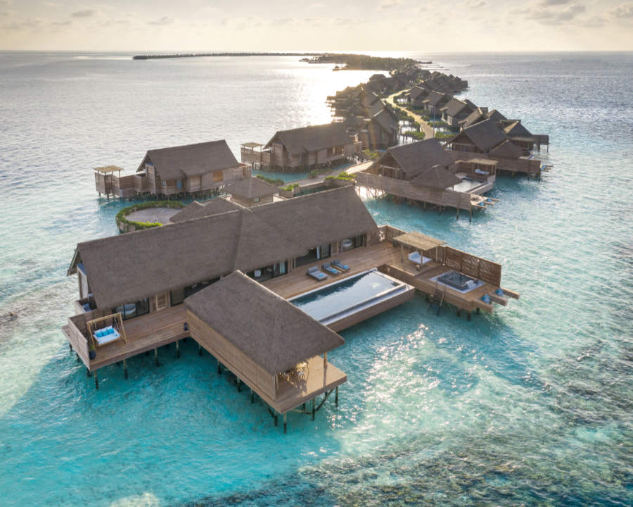 Hilton Honors Bestes: Waldorf Astoria Maldives Ithaafushi Two Bedroom Overwater Villa