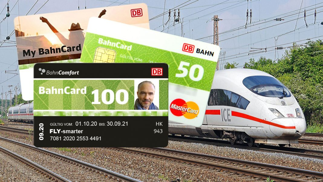 BahnCard Vergleich FLY-smarter ICE